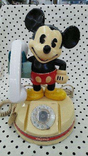 買取情報ミッキーマウス レトロ電話 キャラクターグッズ